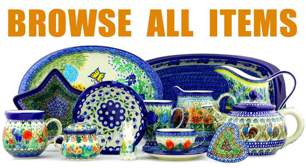 Browse All Polish Pottery Items